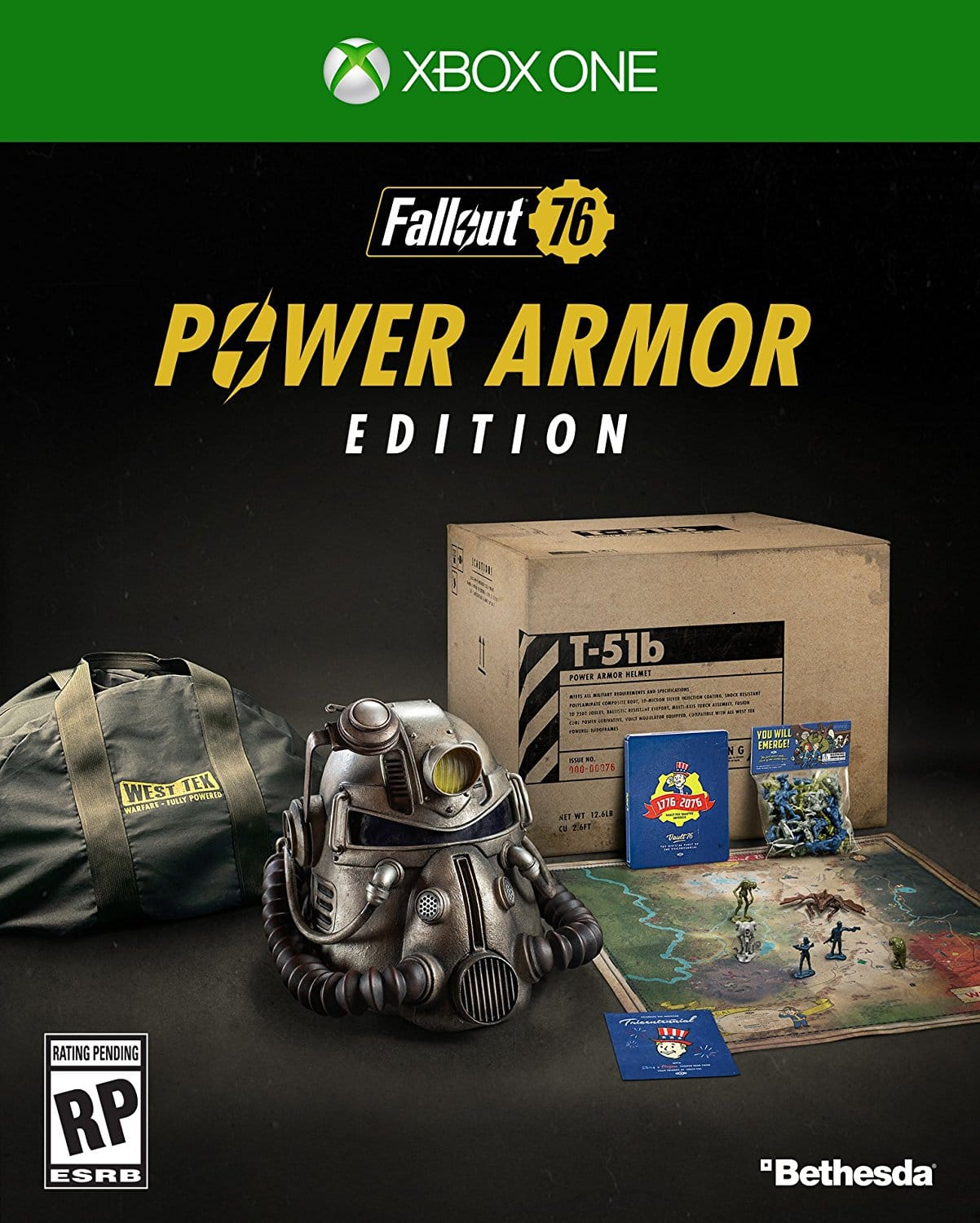 Fallout 76 Power Armor Edition Pre-Order -  PC, PS4, and Xbox All Available @ Amazon Right Now $199.99