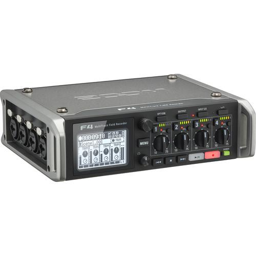 Zoom F4 Multitrack Field Recorder 6 Inputs / 8 Tracks $349 ($200 OFF) at B&H