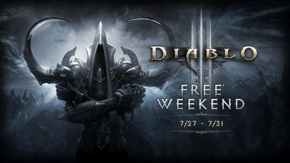 Diablo III: Reaper of Souls – Ultimate Evil Edition - Free This Weekend with Xbox Live Gold