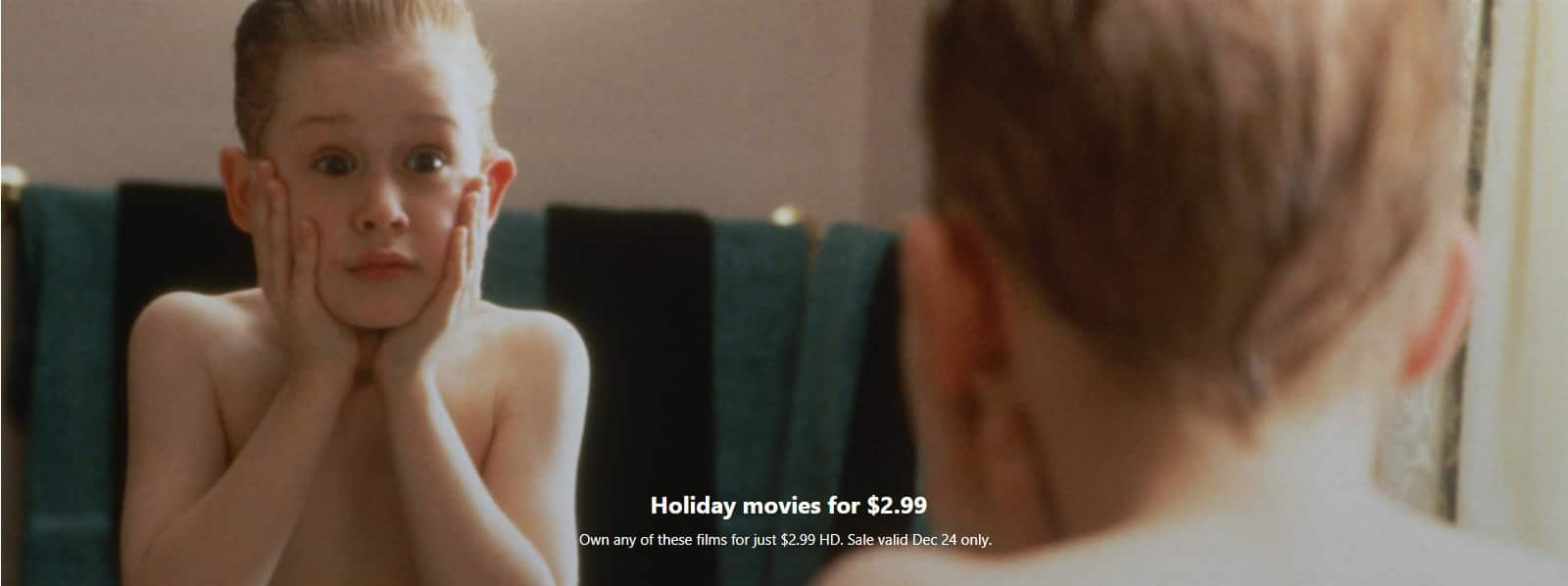 $3 digital movies to own in HD @ the Microsoft Store - Home Alone, Die Hard and more