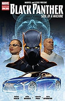 FREE comics for Kindle @ Amazon - Black Panther: Soul Of A Machine #5 - #8, Valerian & Laureline - Volume 20 & 21