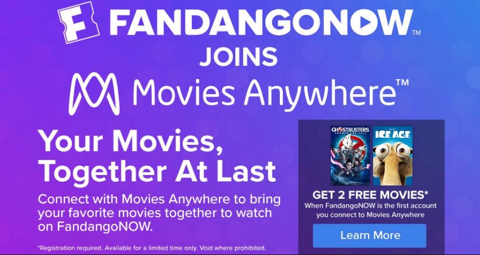 PSA - FandangoNow has joined MoviesAnywhere