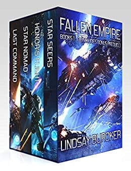 FREE Kindle eBooks - May 23rd - The Fallen Empire Omnibus and more