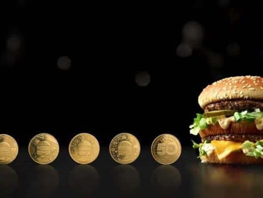 Buy a Big Mac @ McDonalds on August 2nd, receive a MacCoin which can be redeemed for another Big Mac starting on August 3rd (while supplies last)