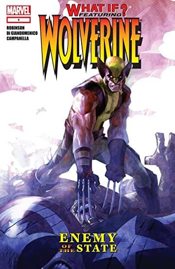Digital freebies for August 15 - Comics @ Comixology: What If? Wolverine: Enemy of The State and more