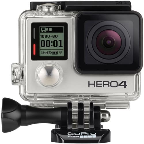 GoPro 4 Silver Edition with GoPro Remote 1.0 and Wrist Housing $329.99 FS @ B&H Photo Video