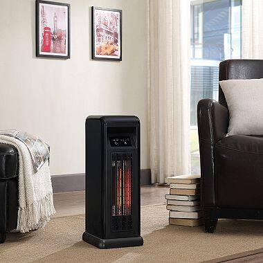 5,200 BTU Infrared Quartz Tower Heater with Digital Thermostat/Timer/Remote! $59.98+tax+FREE Shipping! Extra 5% off with Discover Card!
