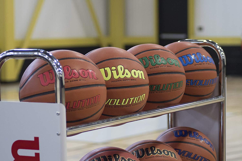 "Wilson Evolution Game Basketball [Official - 29.5""] $39"