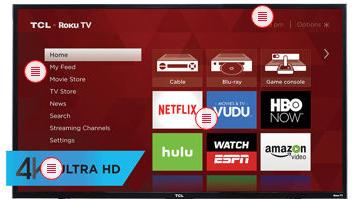 "TCL 50"" 4k Ultra HD Roku TV - $400 @ Costco"