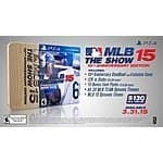 PS4 MLB 15 The Show 10th Anniversary Edition $29.99 free instore pickup Frys or + $6.99 Shipped