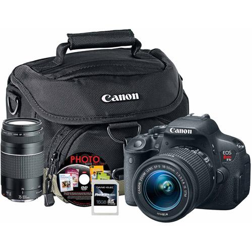 Canon EOS Rebel T6 Digital SLR Camera Premium Kit $300 Walmart Instore Only YMMV