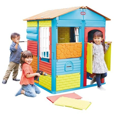 Little Tikes Build-a-House Kids Playhous $45 Walmart B&M YMMV