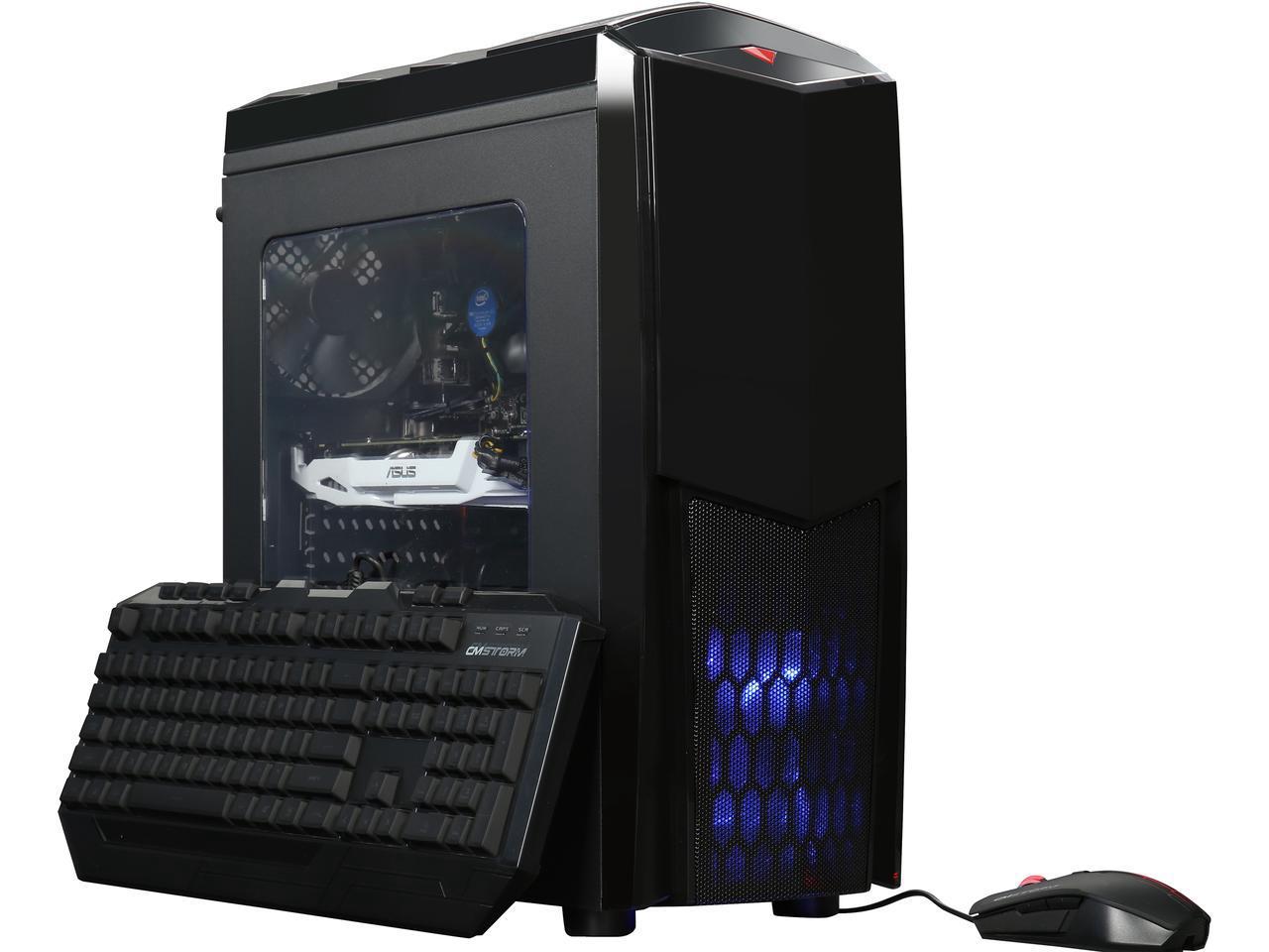 Gaming Desktop i7-7700/16Gb/240SSD/GTX 1070/1Tb HDD (open box) - $905 shipped