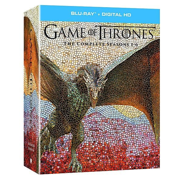 Game of Thrones: The Complete Seasons 1-6 (Blu-Ray + Digital HD) $70 + Free S/H
