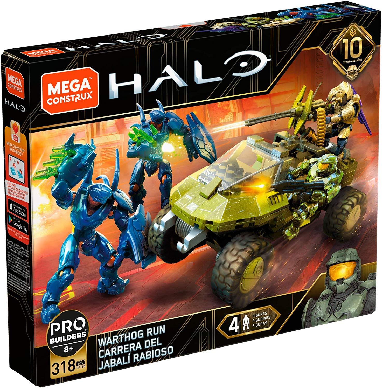 Halo Mega Construx Warthog Run on Amazon $16.99