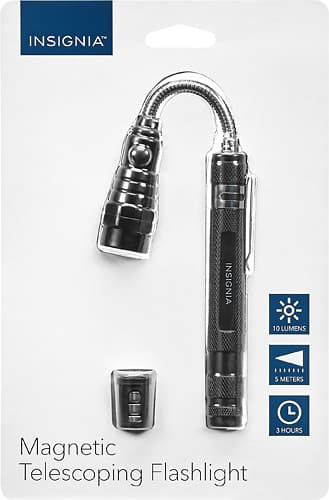 Insignia flashlight clearance starting at $2.25