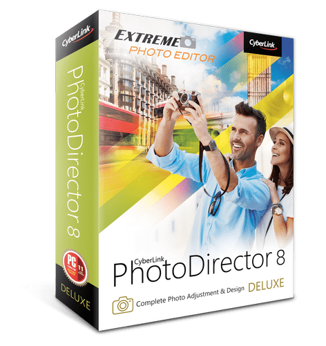FREE CyberLink PhotoDirector 8 Deluxe