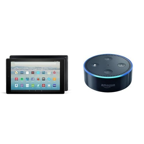 Buy the new Fire HD 10 tablet and get an Echo Dot free - Amazon - $149.98