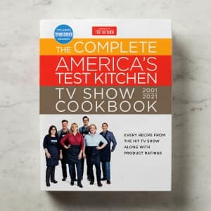 The Complete America's Test Kitchen TV Show Cookbook, 2001-2021 $20 + $5 shipping