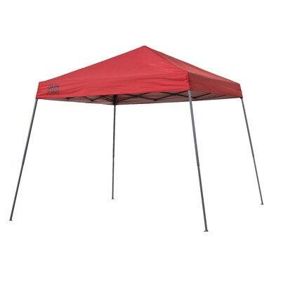 Quik Shade Expedition 10'x10' Slant Leg Instant Pop Up Canopy - Red - $41.42