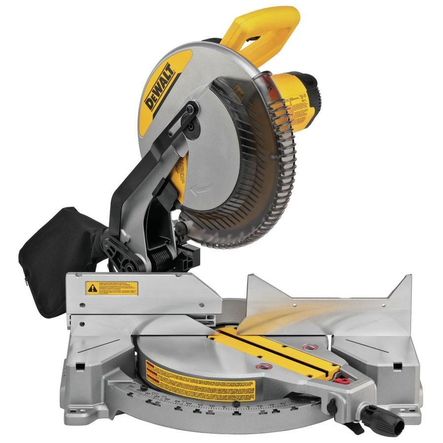Dewalt DWS715 12-in 15-amp Single Bevel Compound Miter Saw - Lowe's - $199