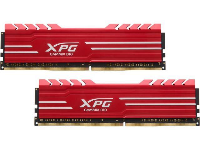 ADATA XPG GAMMIX D10 16GB (2 x 8GB) 288-Pin DDR4 SDRAM DDR4 2666 - $141.99 AC