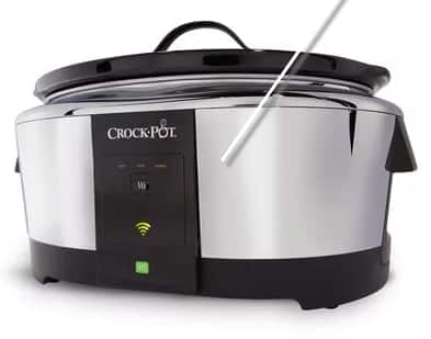 Crock-Pot 6-Quart Smart Slow Cooker with WeMo $59.99 + FS @ Crock-Pot.com