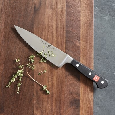"""Wüsthof Chef's Knife 6"""" - $60 at Williams Sonoma or Amazon"""