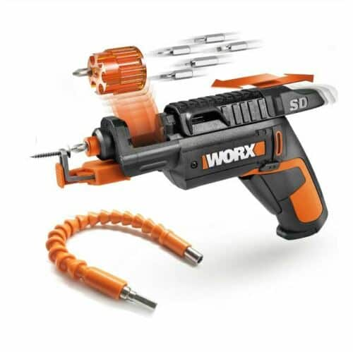 WORX Cordless Screw Driver with Screw Holder w/ Flexible Shaft (Open Box) for 15.99 w/ Free Shipping on Ebay $15.99