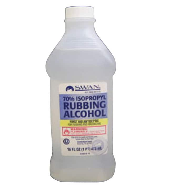 SWAN Isopropyl Rubbing Alcohol, 70%, 16 oz. $2.77 and Free Shipping for over $20