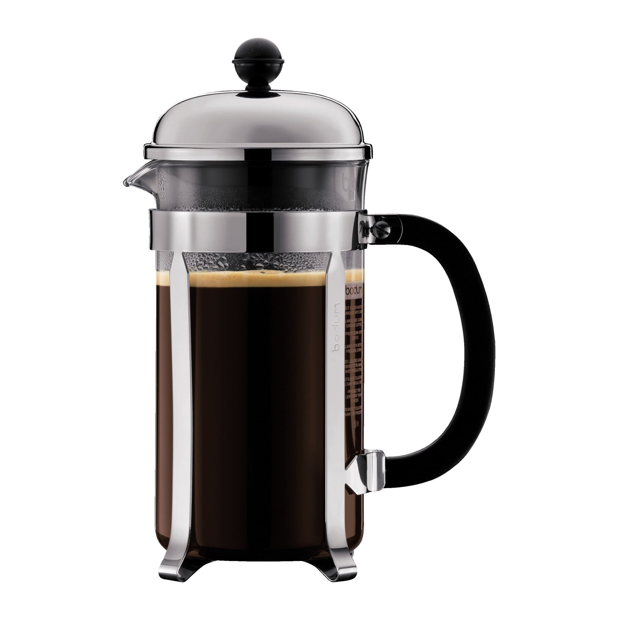 Bodum CHAMBORD Coffee Maker, 12 Ounce (3 Cup) $10 Amazon