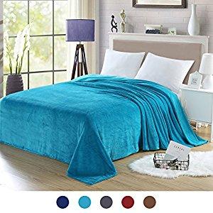 """90x108"""" Flannel Fleece  Bed Blanket $14.99"""