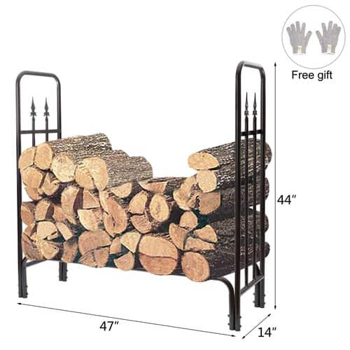 4 Feet Heavy Duty Firewood Racks $41.29