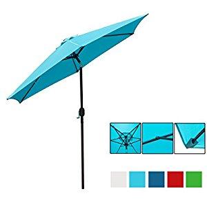 9 Ft UV Protective Patio Umbrella $39.53