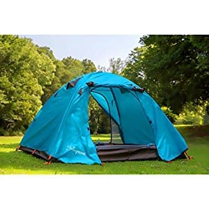 Family Automatic/Manual Backpacking Tent with Carrying Bag & Accessories $24.49