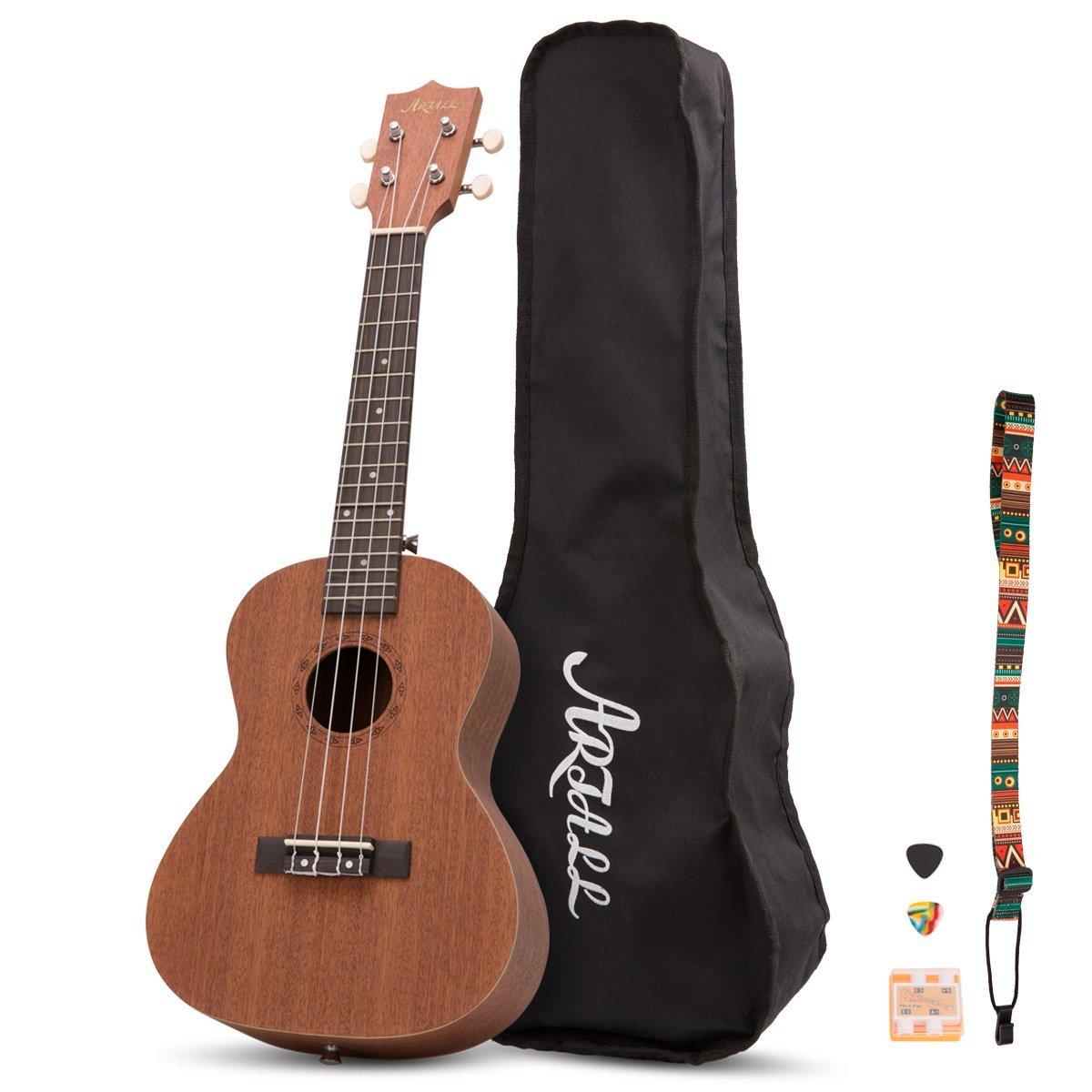 23 Inch Handcrafted Solid Wood Concert Ukulele $26.39