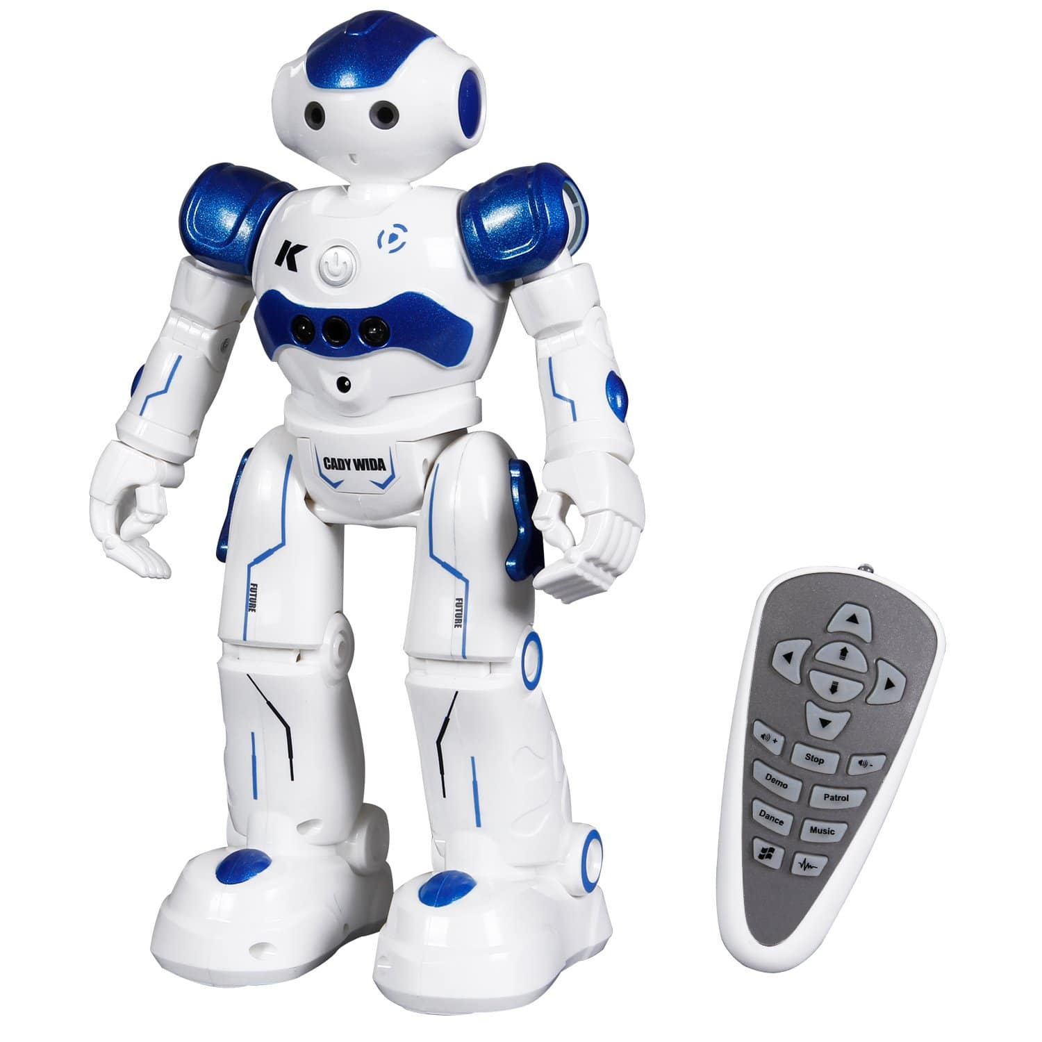 Toch RC Robot Toy, Programmable Smart Infrared Sensing Robot for Kids Birthday Gift Present $22.09 Free Shipping