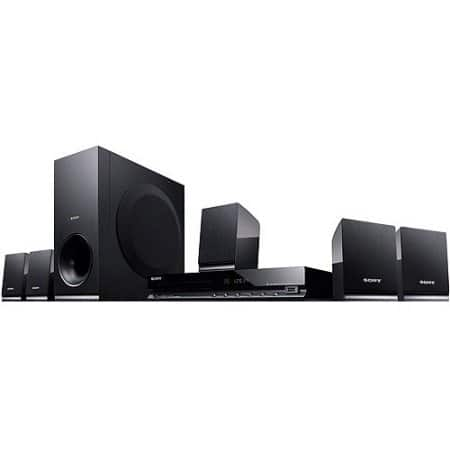 YMMV Walmart B&M Clearance Sony DAV-TZ140 5.1 CH Home Theater Surround Sound System with DVD Player $30.00