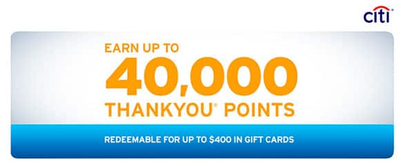 $200 in gift cards for opening a Citibank Basic Banking account Expires 10/31/13