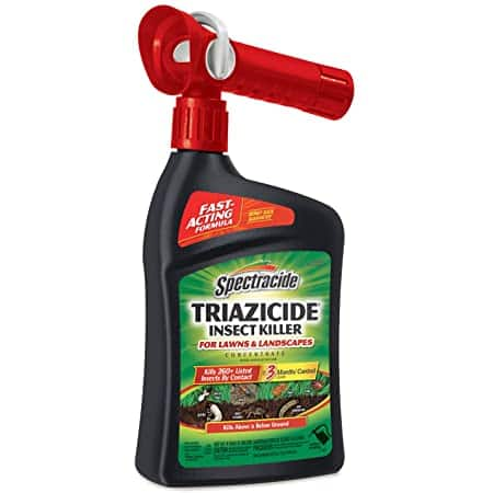 Spectracide Triazicide Insect Killer For Lawns & Landscapes Concentrate, hose attached, 32-Ounce $5.89 from Amazon