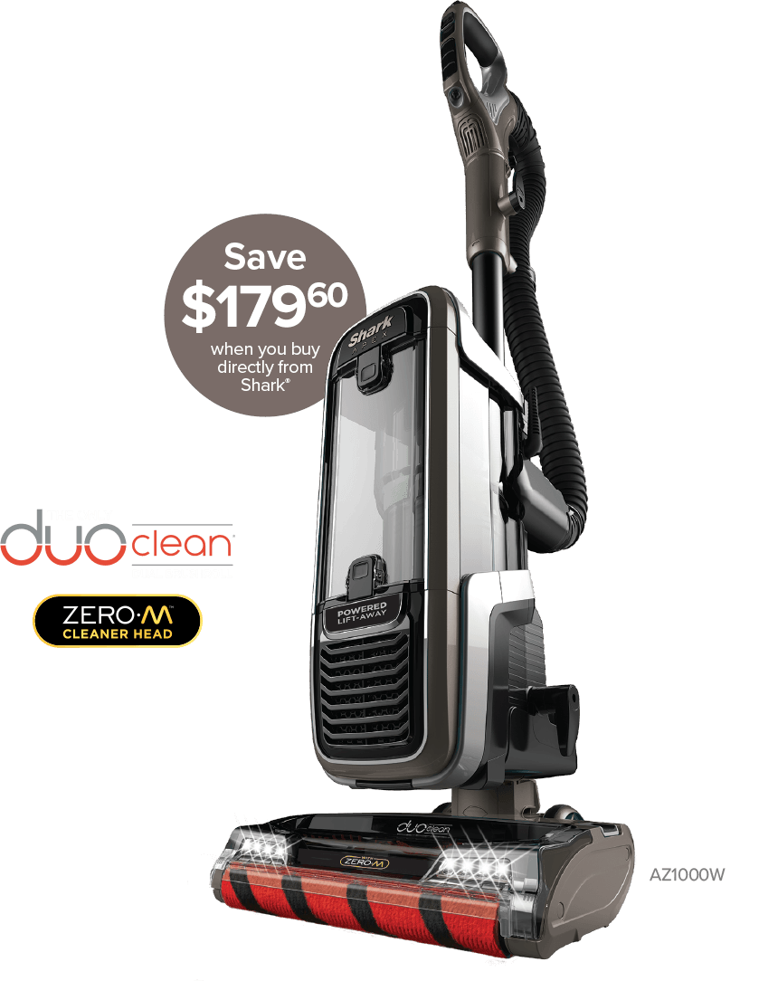 Shark® APEX® DuoClean® with Zero-M® Self-Cleaning Brushroll Upright Vacuum 239+ tax with free shipping