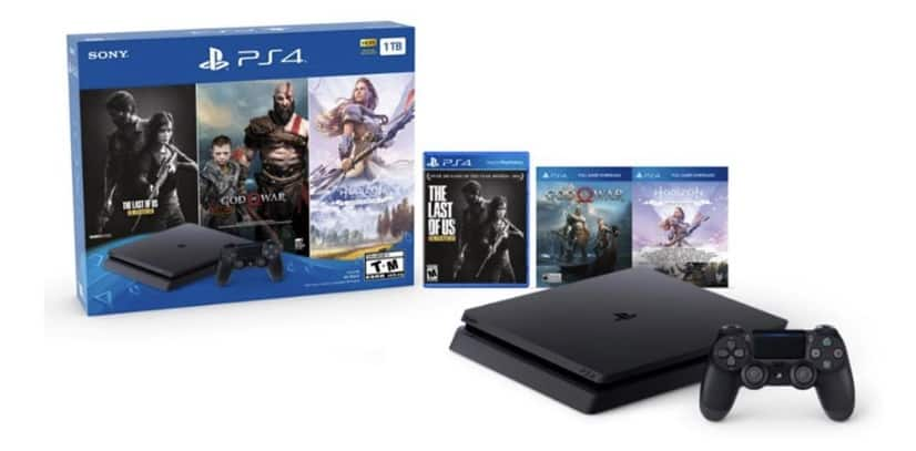 Playstation 4 - 1TB - 3 game bundle