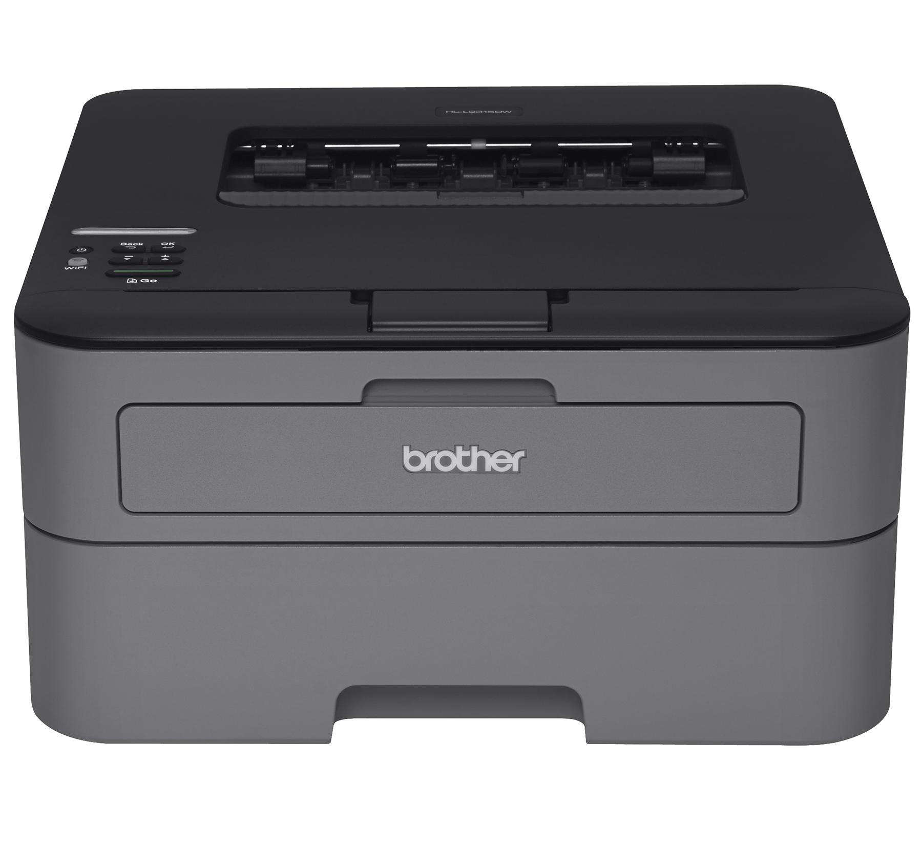 Brother L2315DW Monochrome Wireless Duplex Laser Printer (Refurbished) $69.99+ Free Shipping from Walmart.