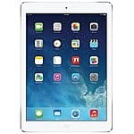 "16GB/32GB Apple iPad Air 9.7"" WiFi Tablet w/ Retina Display (Black or White) $399.99/$499.99FS"