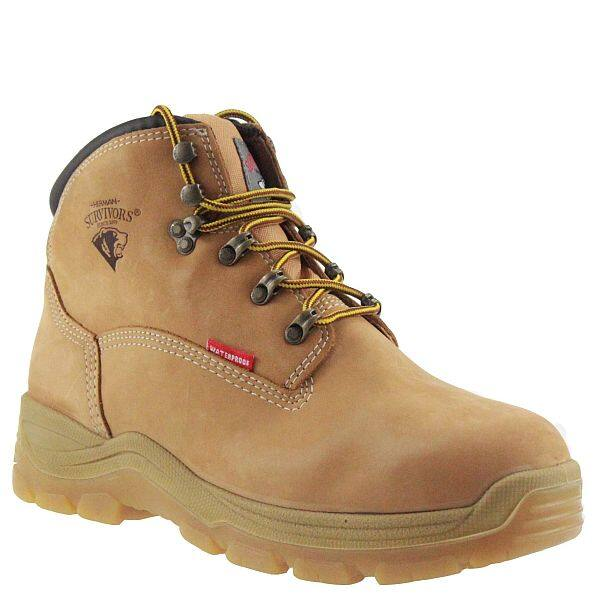 "Herman Survivors Men's Breaker 6"" Waterproof Steel Toe Work Boot $24.50 Walmart YMMV"
