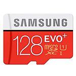 128GB Samsung EVO+ MicroSDXC Memory Card  $73 + Free Shipping