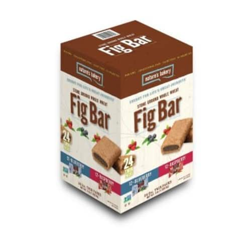 Nature's Bakery Fig Bar, Variety Pack (2 oz., 24 pk.) $7.88