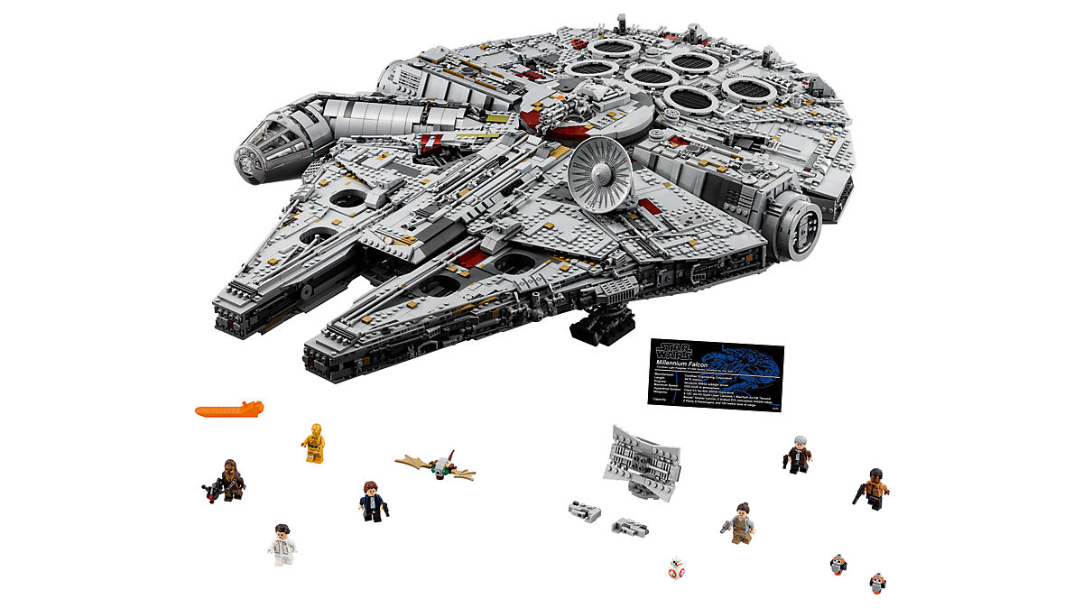 LEGO Star Wars Millenium Falcon 75192 in stock at Lego Shop at Home $799.99