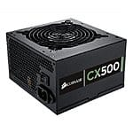 CORSAIR CX500 500W 80+ BRONZE Power Supply $49.99 - $20 MIR - $5 coupon + FS = $24.99 or lower at Newegg