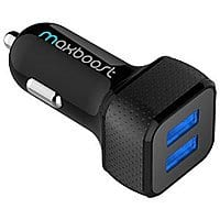Amazon Deal: 2-Port Car Charger 4.8A/24W 2-Port Portable Car Charger $6.99 AC + FS @ Amazon